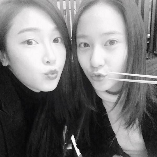 Jung Sisters Jessica and Krystal Reunite for Dinner