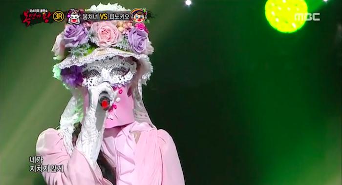 """Spring Girl Contestant Revealed to Be Girl Group Member on """"King of Mask Singer"""""""