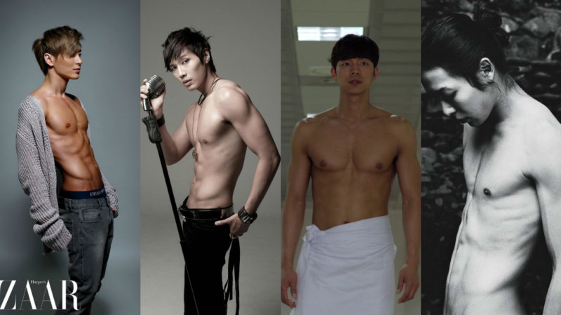 9 Korean Stars With the Hottest Post-Military Abs
