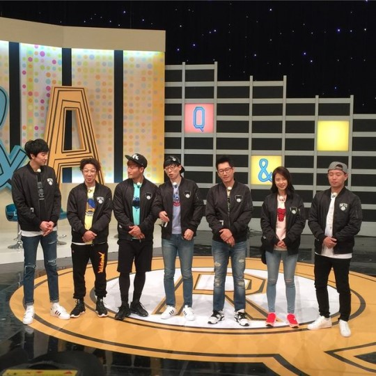 """New Producer for """"Running Man"""" Holds Q&A Session With Members"""