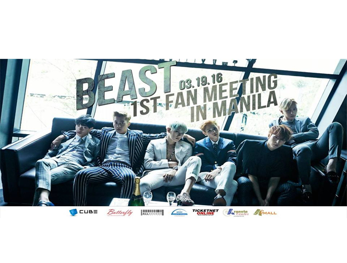 Giveaway: See BEAST Turn It Up for Their Manila Fanmeet!