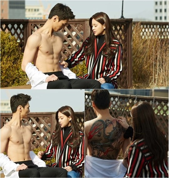 """New Stills of """"Please Come Back Mister"""" Show Off Lee Tae Hwan's Chocolate Abs"""