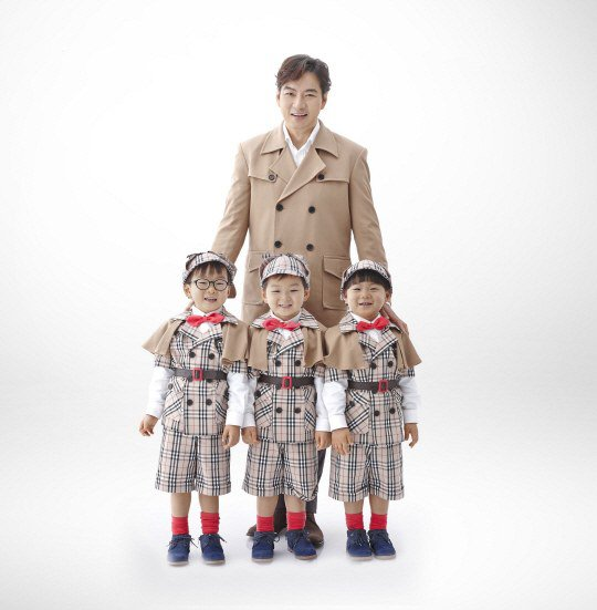 Song Il Gook and Triplets Extend Ad Contract With Minute Maid