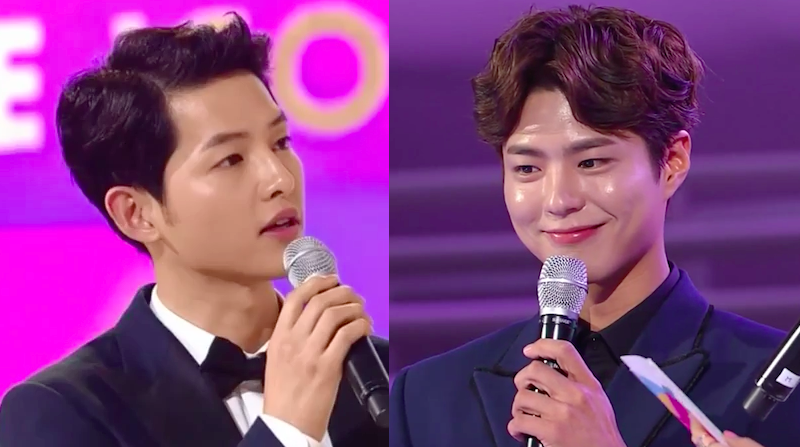 "Song Joong Ki Shares What He's Learned from Park Bo Gum at ""Style Icon Asia 2016"""