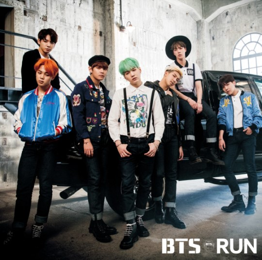 BTS Tops Oricon Chart With Release of Japanese Single