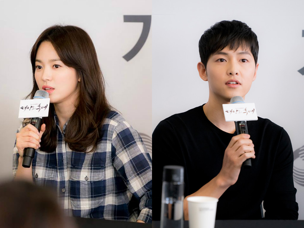 Song Hye Kyo Says Song Joong Ki's Body Seems Weaker Than Hers