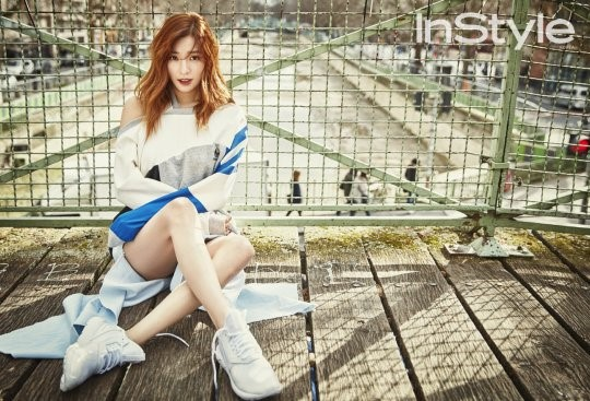 Tiffany Shows Off Her Fashion Sense in Paris for InStyle Magazine