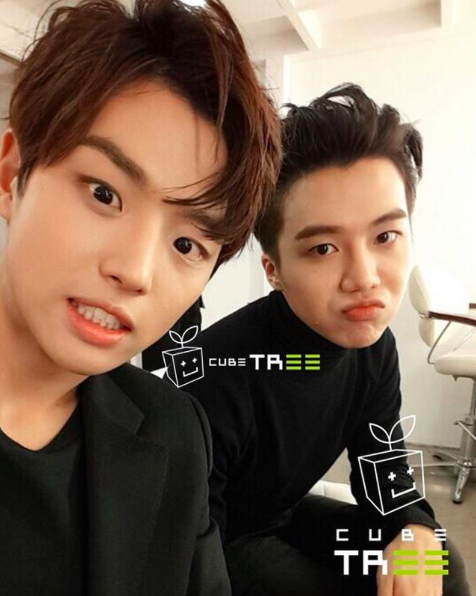 Former SM the Ballad Member Jino Is Now a Trainee With Cube Entertainment