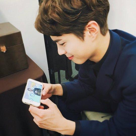 Park Bo Gum Expresses His Love for Song Joong Ki