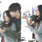 "VIXX's N Gives Kang Min Ah a Back-Hug in Stills for New Web Drama ""Tomorrow Boy"""