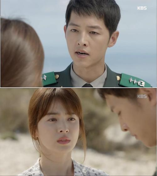 "Descendants of the Sun"" Actors Pick Their Favorite Scenes From the"