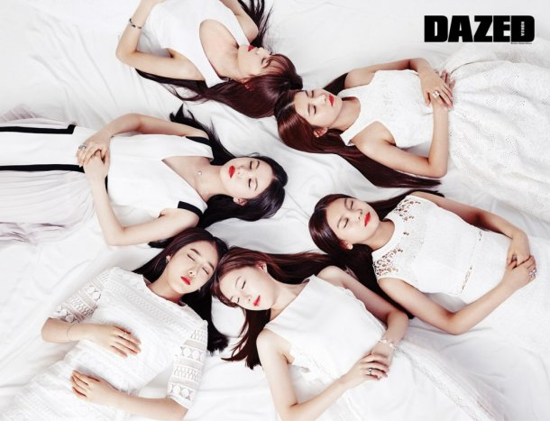 GFRIEND Thanks Fans for Their Love and Support in Dazed Pictorial