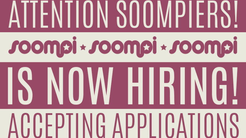 Soompi Is Hiring: Full-Time Staff Editor in Seoul, Korea