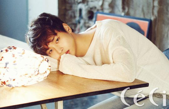 N Talks About His New Living Arrangements in Ceci Pictorial