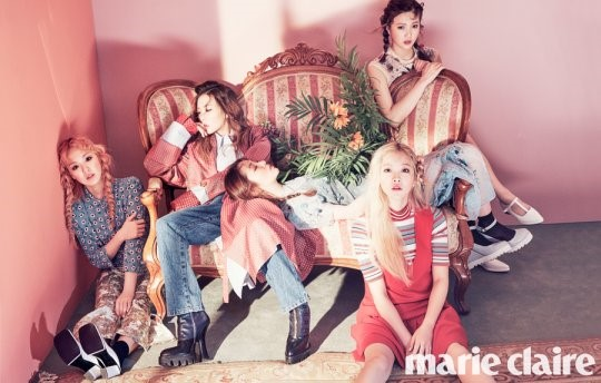 Red Velvet Talks About Their New Album Aspirations for Marie Claire