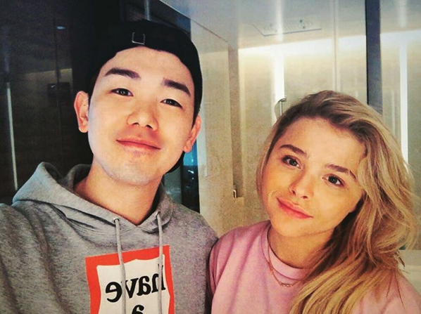 "Chloe Moretz Confirmed to Appear on ""I Live Alone"" With Eric Nam"