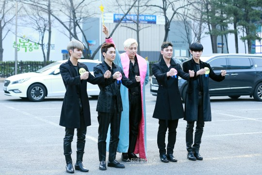 nuest star daily news music bank march 25