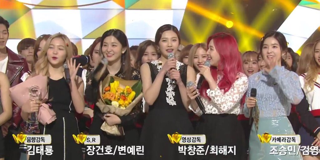 "Watch: Red Velvet Gets 4th Win for ""One of These Nights"" on ""Music Bank"""