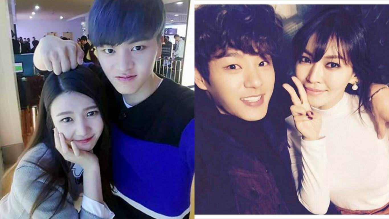 Yook Sungjae Joy Kwak Siyang Kim Soyeon