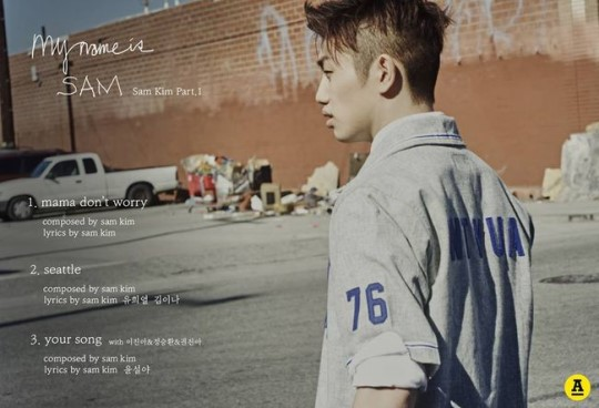 """Yoo Hee Yeol's First """"Disciple"""" Sam Kim Releases Tracklist for Upcoming Debut"""