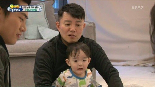 "2PM's Taecyeon Brings Special Guests to Lee Beom Soo's House on ""The Return of Superman"""