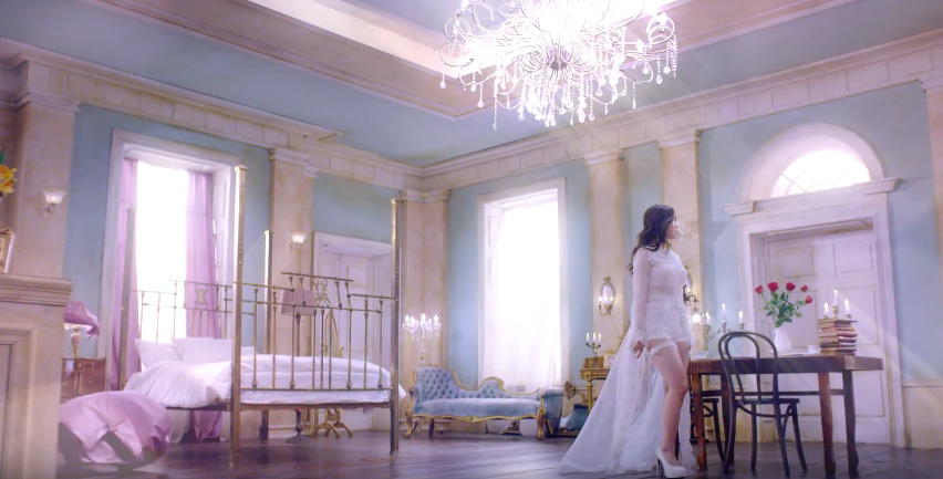 "Watch: Secret's Hyosung Asks Her Prince Charming to ""Find Me"" in Music Video"