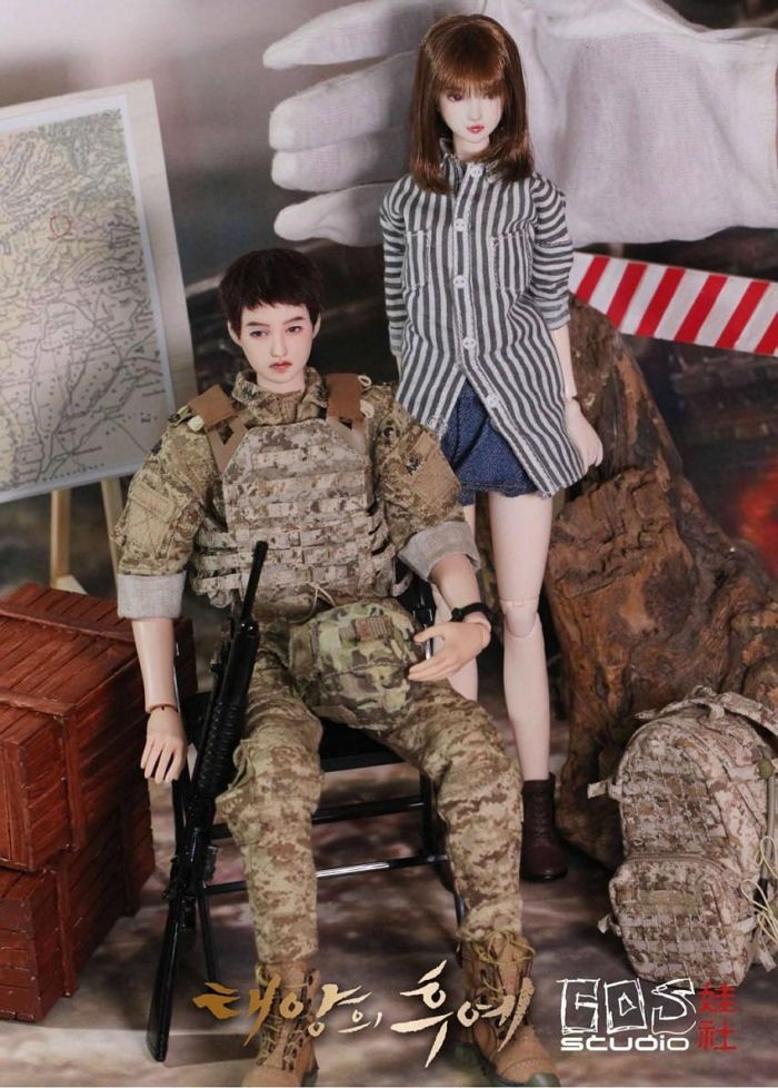 "Devoted Fan Recreates Song-Song Couple From ""Descendants of the Sun"""