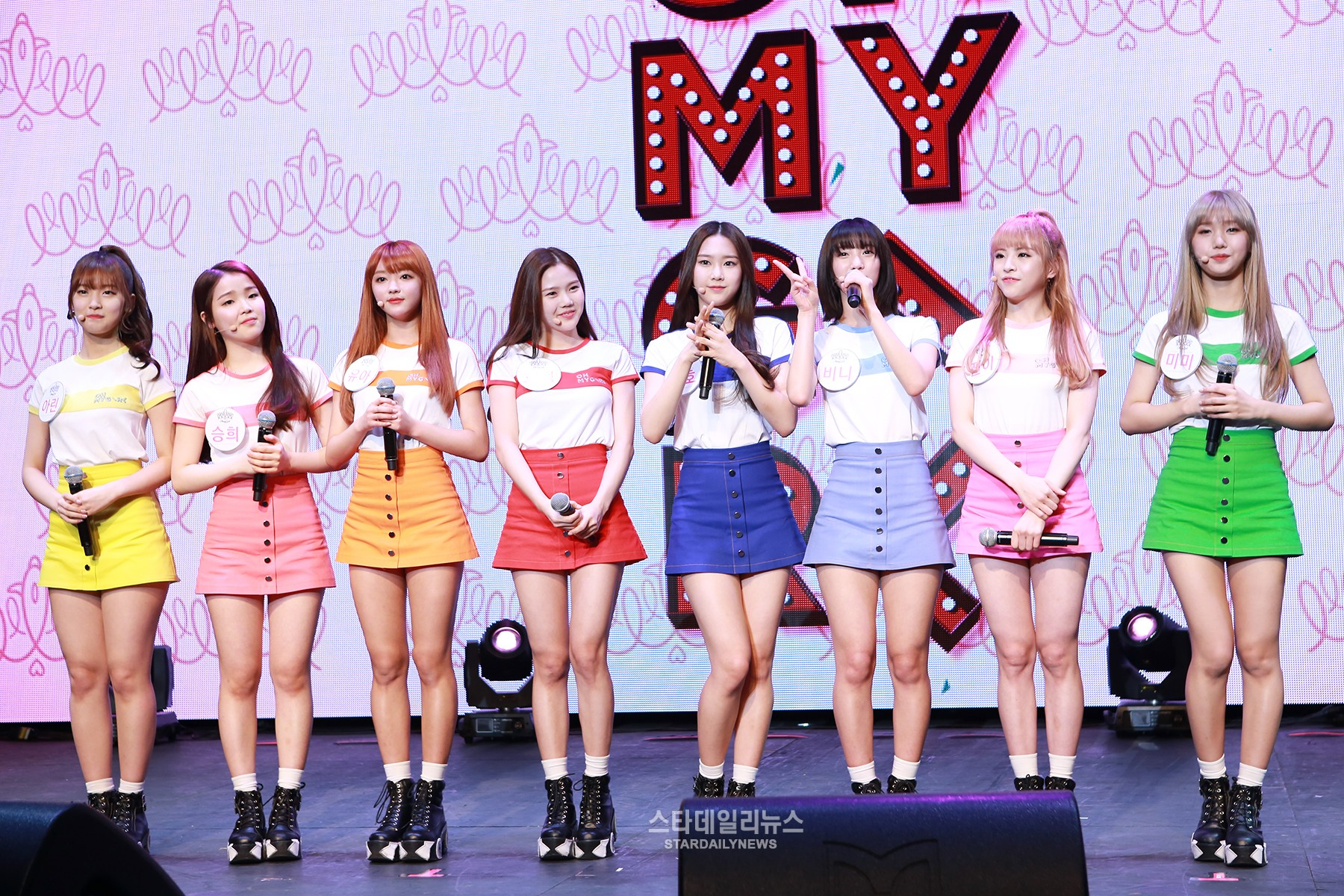 Oh My Girl Members Are Honored to Be Compared to Girls' Generation