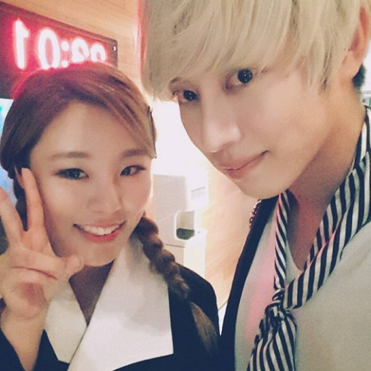 Super Junior's Heechul Confirms Duet Is With MAMAMOO's Wheein
