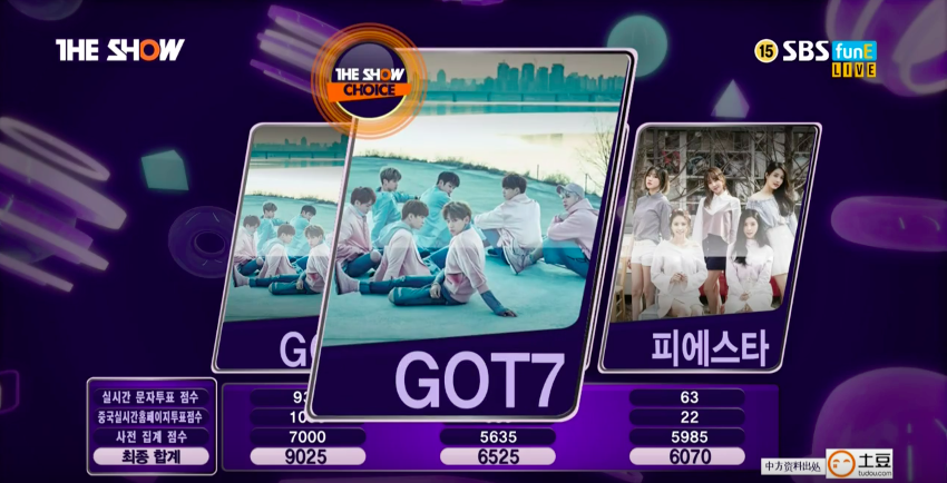 got7 fly1stwin the show