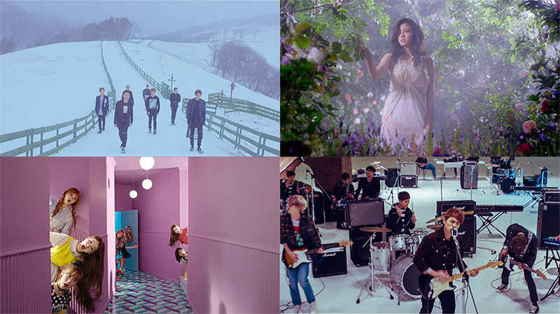 This Week in K-Pop MV Releases: Block B, BTOB, Oh My Girl, Hyosung, Day6 and More – March Week 5