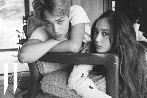 Breaking: EXO's Kai and f(x)'s Krystal Reportedly Dating