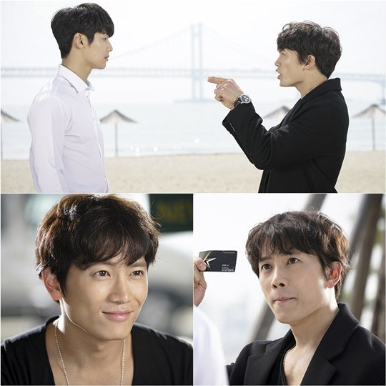 """Entertainer"" Hints at Ji Sung and Kang Min Hyuk's Hilarious Encounter in Preview Stills"