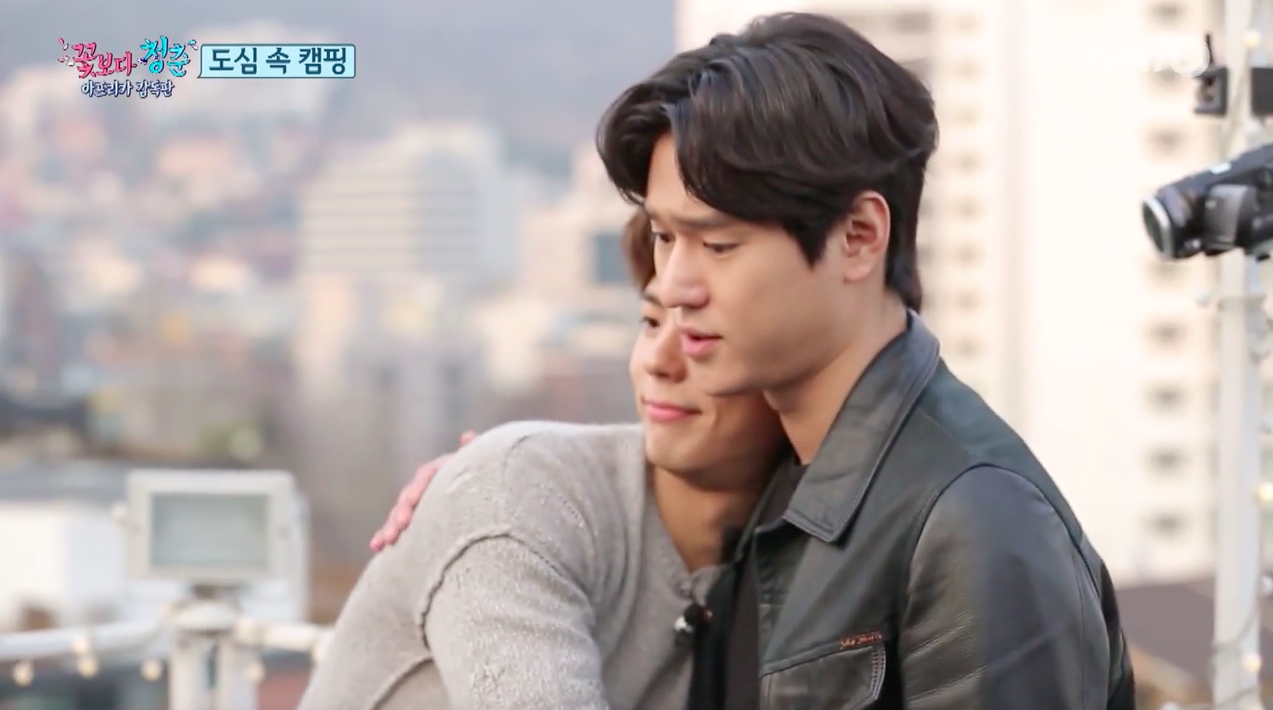 """Watch: Ko Kyung Pyo Thanks Park Bo Gum for Keeping His Promise on """"Youth Over Flowers"""""""