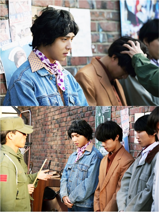 "B1A4's Baro Transports Back in Time to the 1980s for ""Master: God of Noodles"""