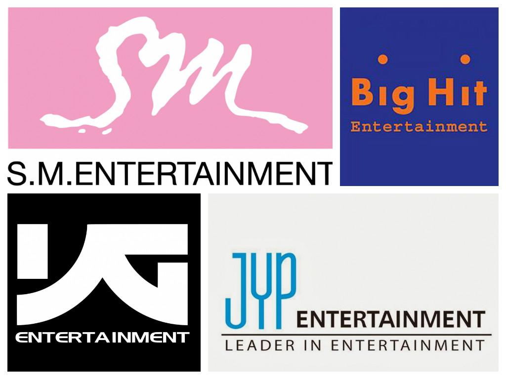 SM Big Hit YG JYP