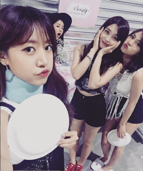 A Pink's Namjoo Reassures Fans She Is Okay