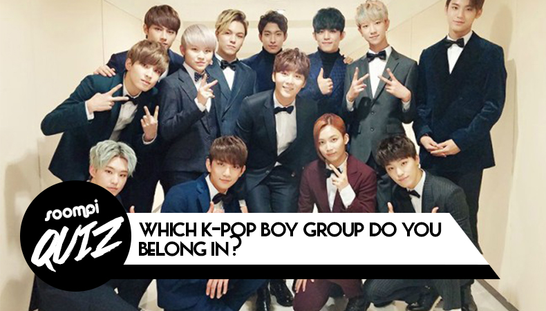 soompi quiz which kpop boy group
