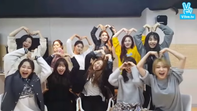 "Watch: ""Produce 101"" Girl Group I.O.I Celebrates Filming Their First Photo Shoot Together"