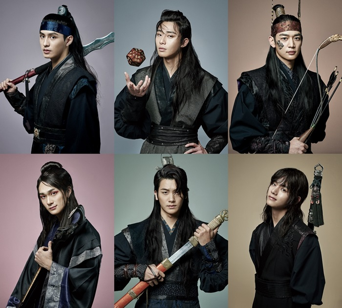 "New Character Stills and Details Released For ""Hwarang: The Beginning"""