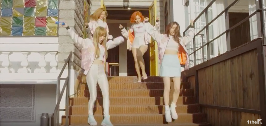 """Watch: MAMAMOO Is Ready for Summer in """"Woo Hoo"""" MV for LG G5"""
