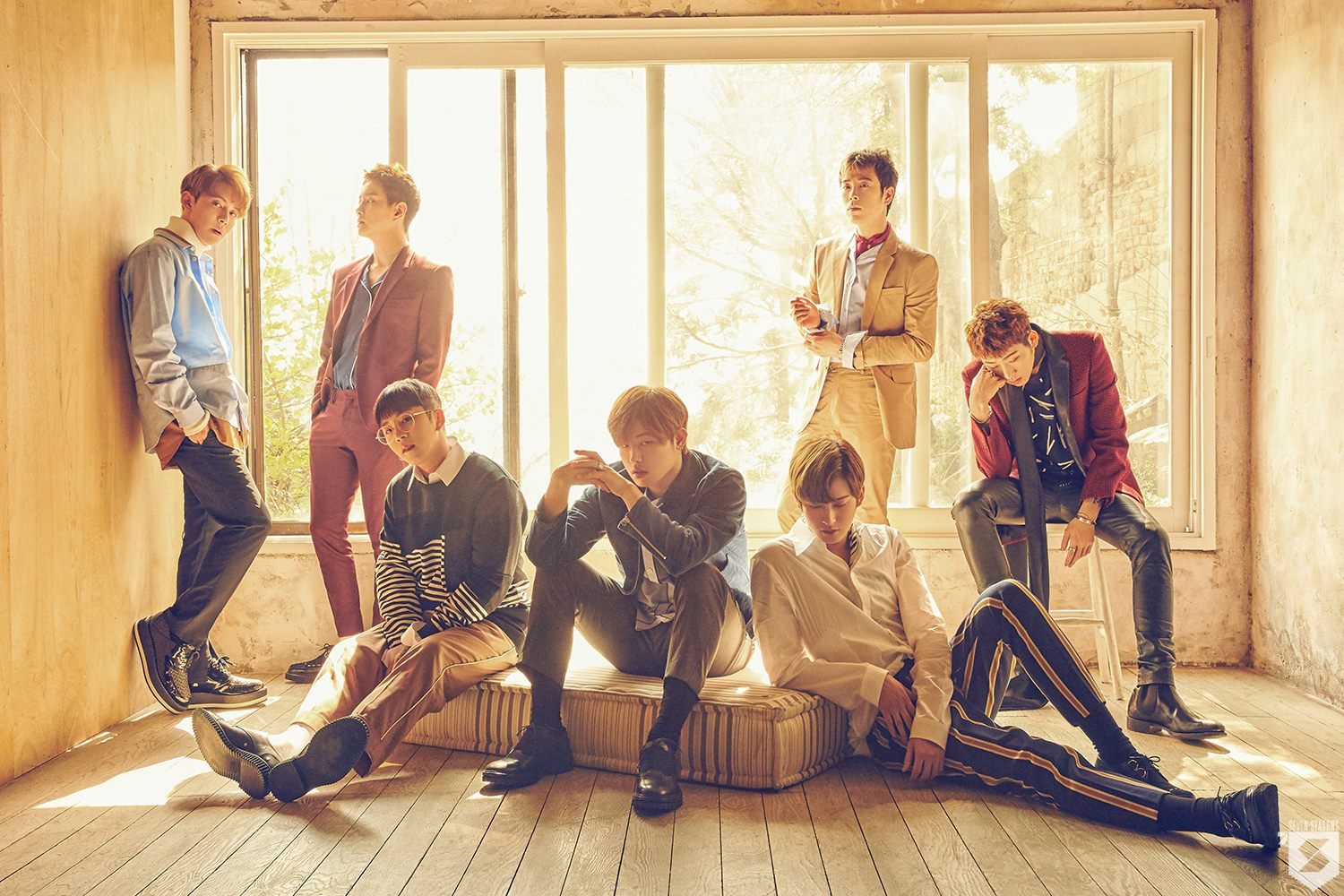 """Update: Block B Shares Group Teaser Photo and Zico's Individual Teaser for """"Blooming Period"""""""