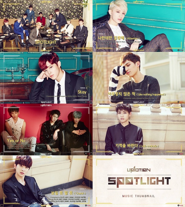 """Update: UP10TION Shares Audio Preview for """"Spotlight"""" Album"""