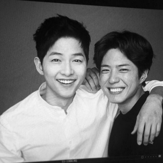 Park Bo Gum and Song Joong Ki Are Adorably Bromantic