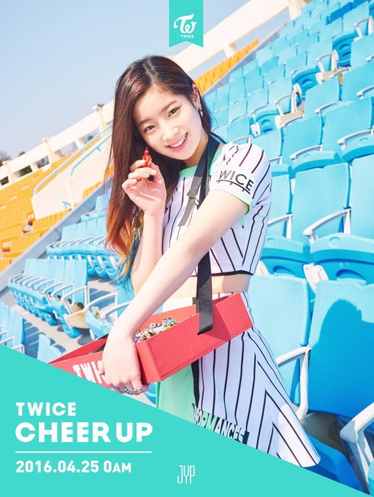 twice cheer up dahyun