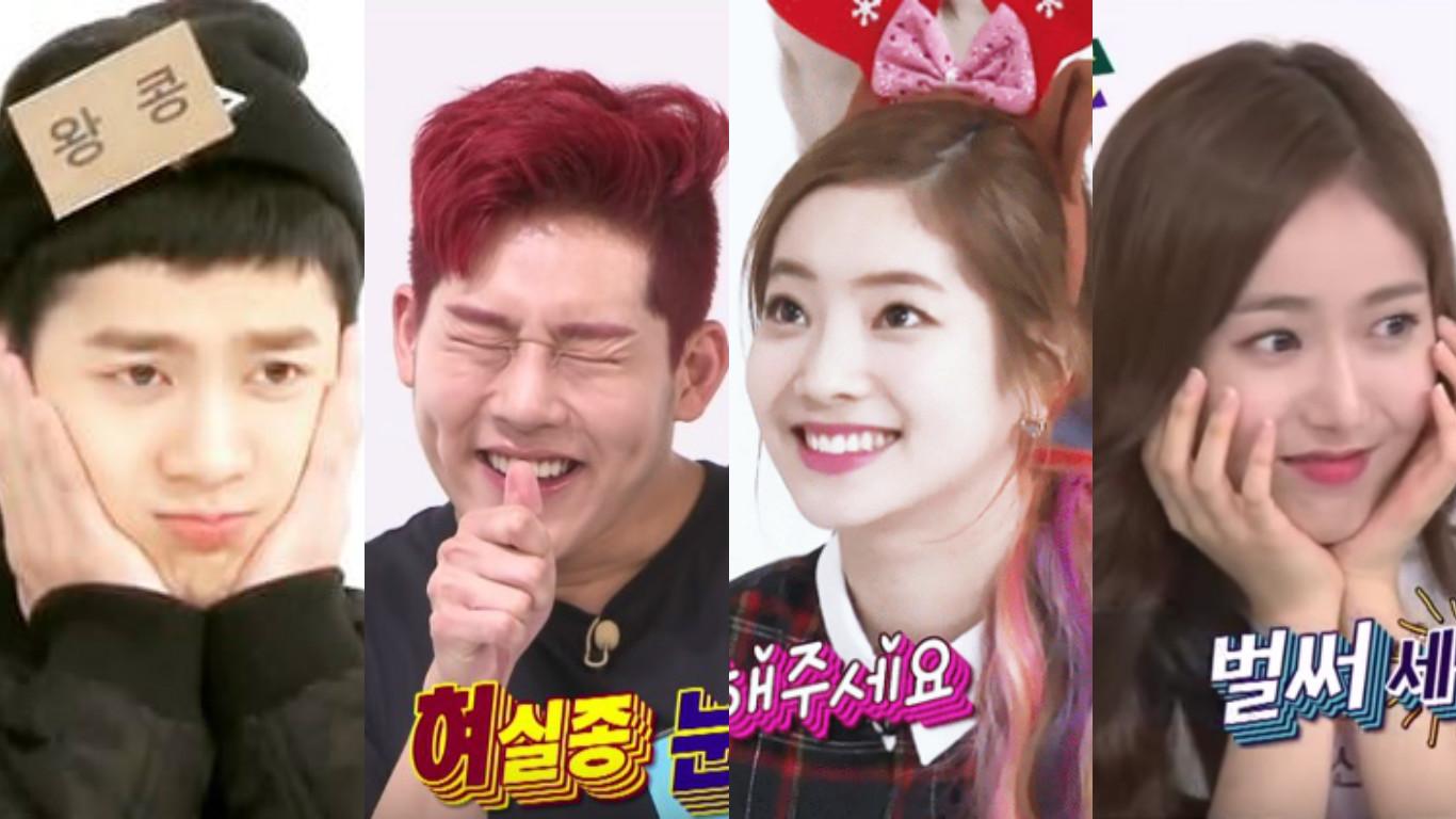 "Jackson, Jooheon, Dahyun, and SinB Team Up for New ""Weekly Idol"" Segment"