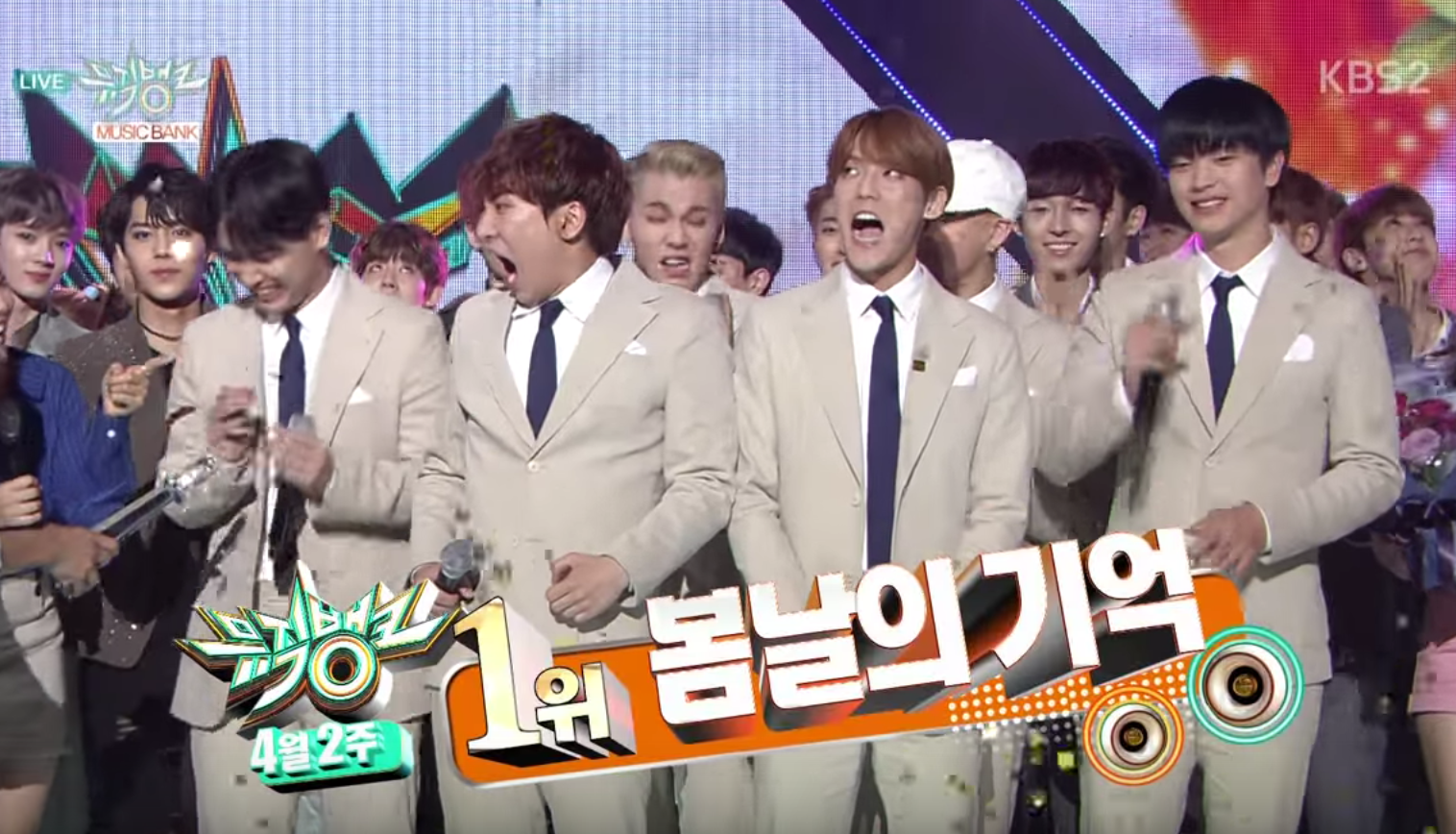 """Watch: BTOB Takes 3rd Win With """"Remember That"""" on """"Music Bank,"""" Performances by CNBLUE, GOT7, Davichi, and More"""