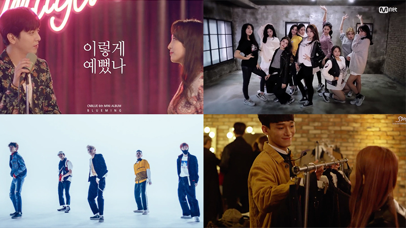 This Week in K-Pop MV Releases: CNBLUE, I.O.I, NCT U, and More – April Week 1