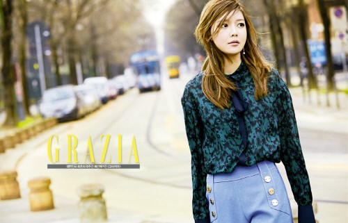 Girls' Generation's Sooyoung Is a Milan Fashionista for Grazia