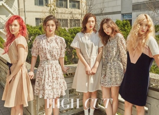 Red Velvet Discuss Their Popularity With Soldiers for High Cut